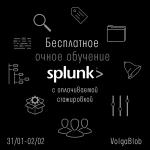 Бесплатное обучение Splunk с последующей стажировкой