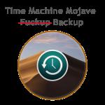 Лечим Time Machine Backup в MacOS Mojave